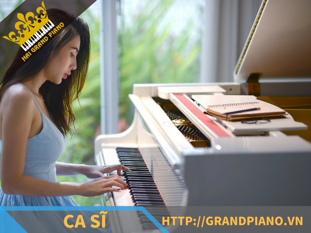 CS Thủy Tiên - Grand Piano Yamaha G5 White
