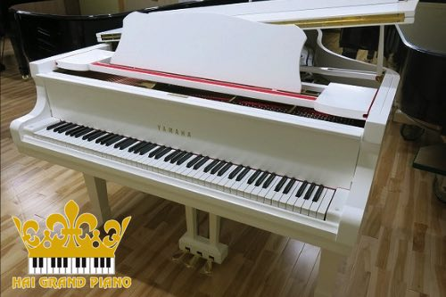GRAND PIANO YAMAHA G5 WHITE
