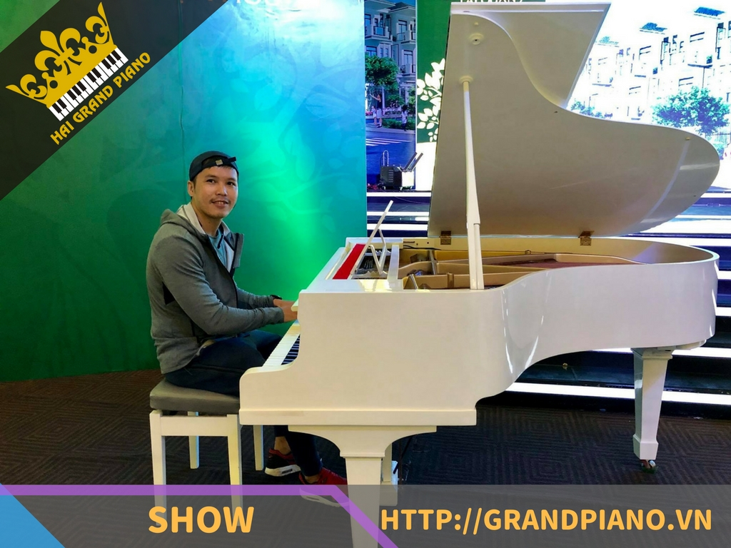 The Adora Premium - Grand Piano Yamaha G2 White
